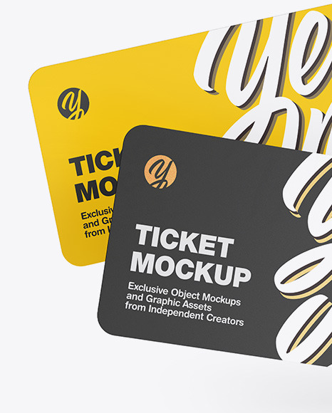 Two Tickets Mockup