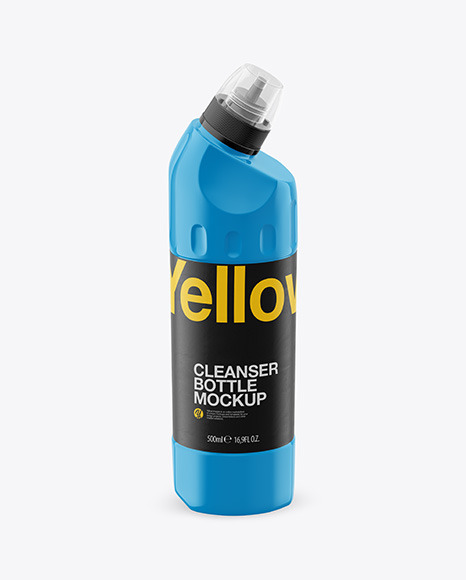 500ml Plastic Cleaner Bottle