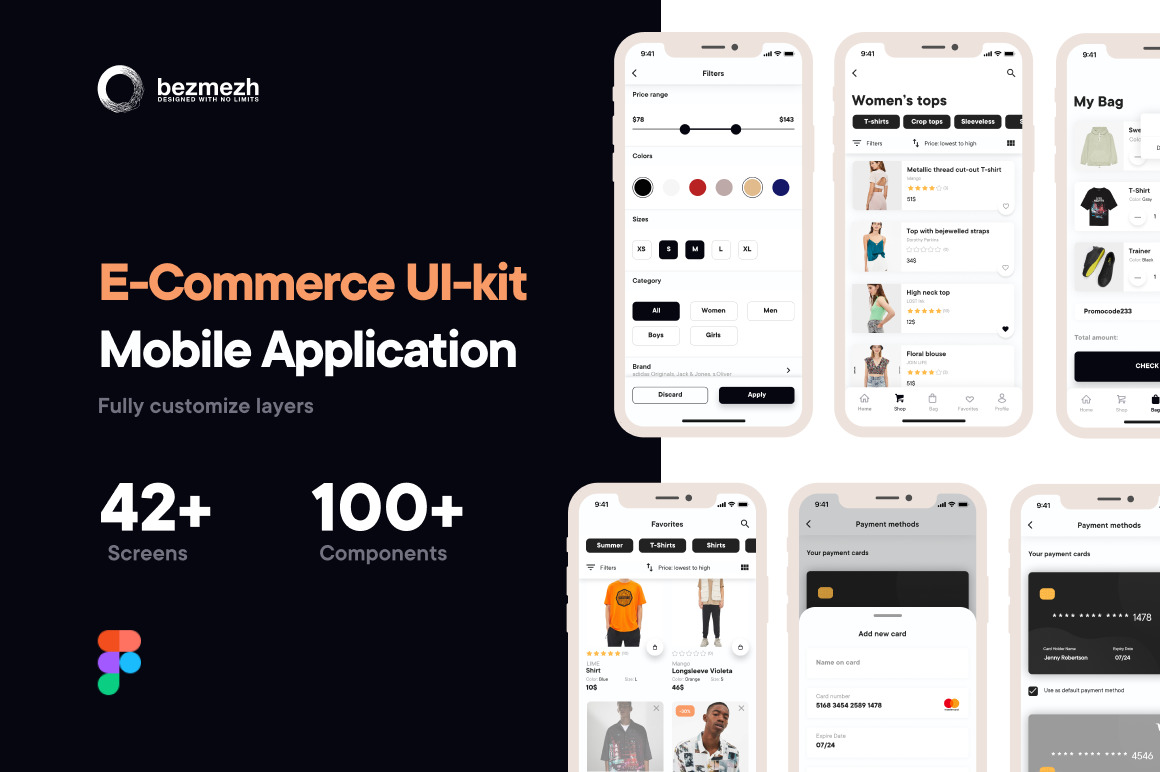 E-Commerce UI-kit Mobile Application