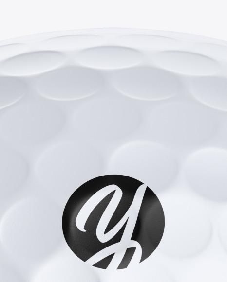 Golf Ball Mockup