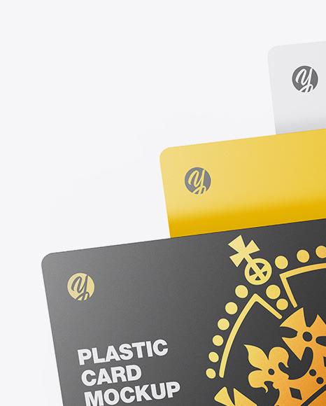 Three Plastic Cards