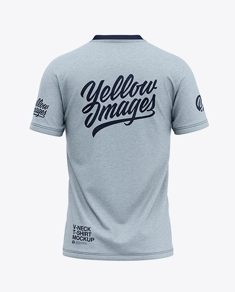 Download Mens Rugby Jersey Mockup Back View Yellowimages