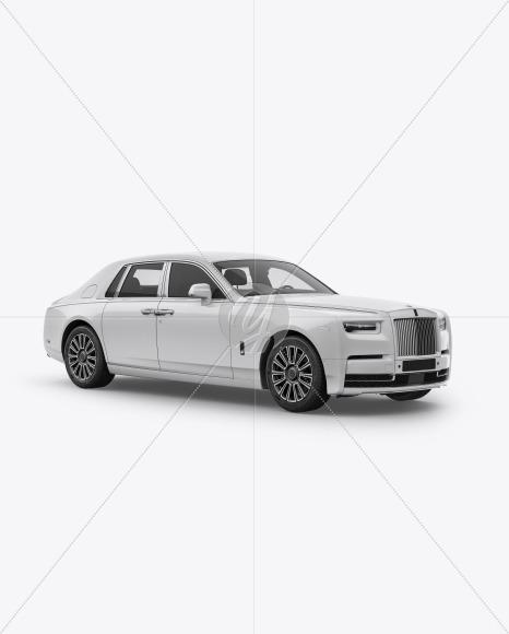 Luxury Car Mockup - Half Side View - Yellowimages Mockups
