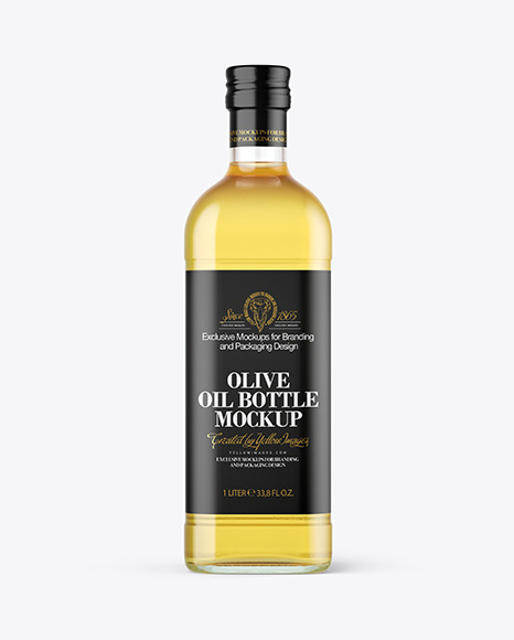 Download Clear Glass Olive Oil Bottle Mockup In Bottle Mockups On Yellow Images Object Mockups Yellowimages Mockups