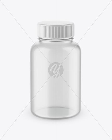 Blank Lotion Bottle Mockup