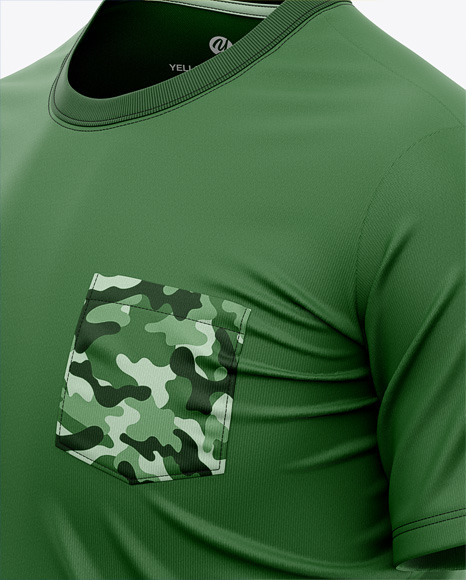 Men's Pocket T-Shirt - Side View