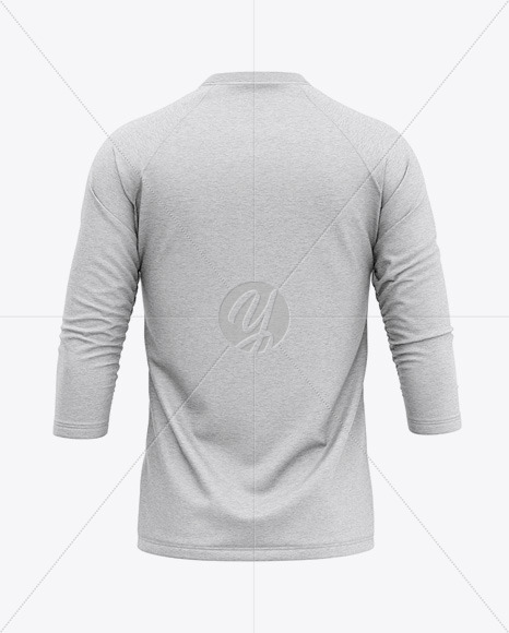 Download Mens Heather Short Sleeve T Shirt Mockup Front View Yellowimages