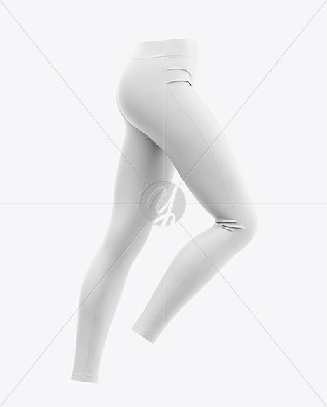 Women's Leggings Mockup - Side View