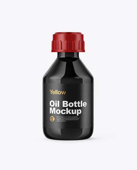 Download Glossy Bottle PSD Mockup