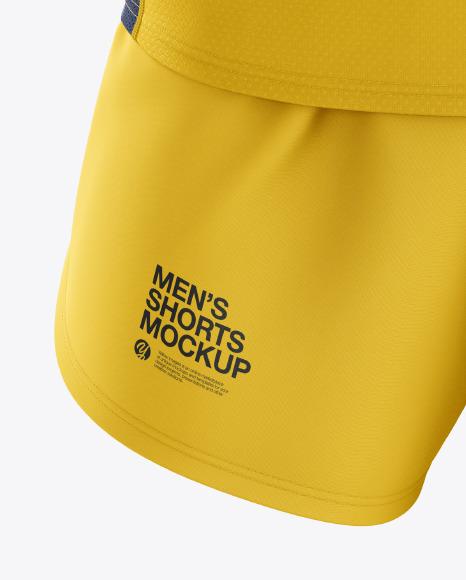 Men's Running Kit mockup (Front View)