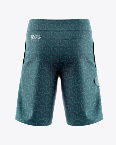 Download Mens Shorts HQ PSD Mockup