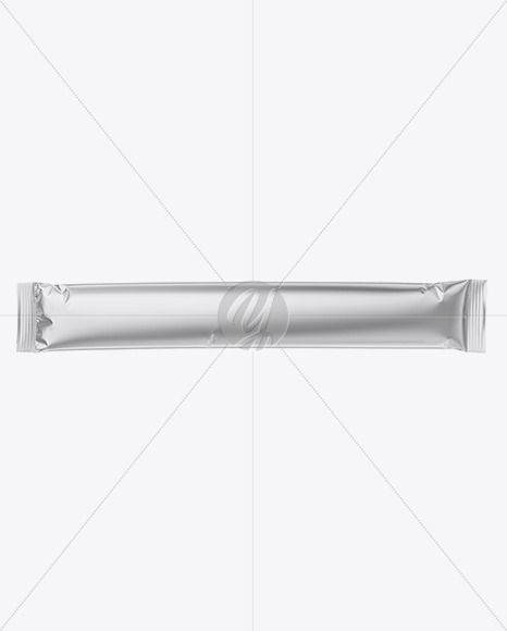 Metallic Stick Sachet Mockup