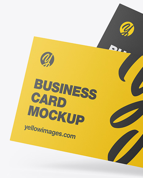 Mockup Business Card Free Psd