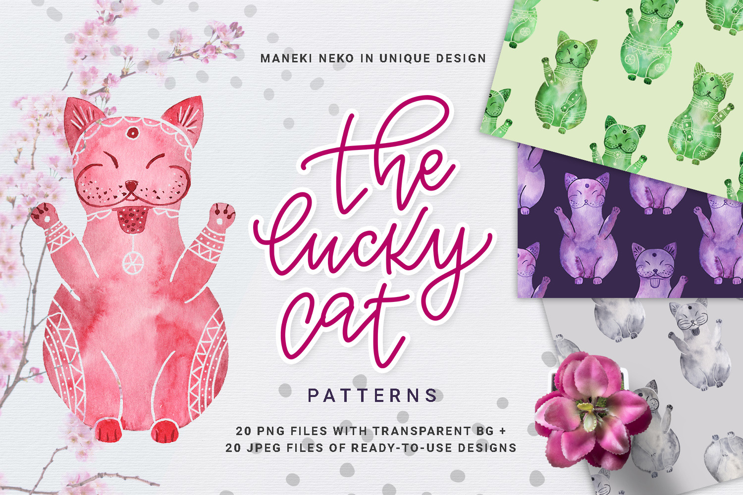 The Lucky Cat - Patterns