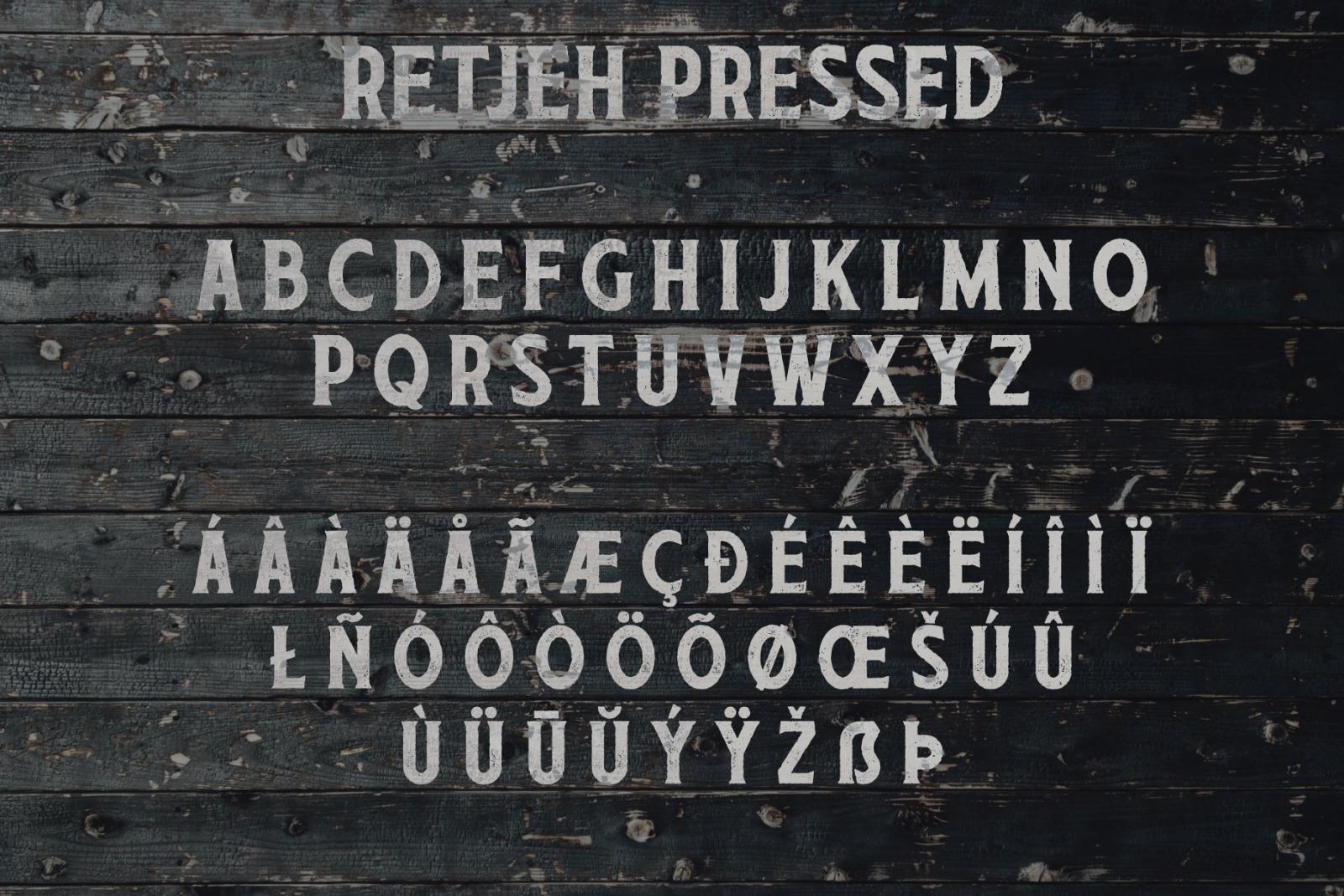 Retjeh Font