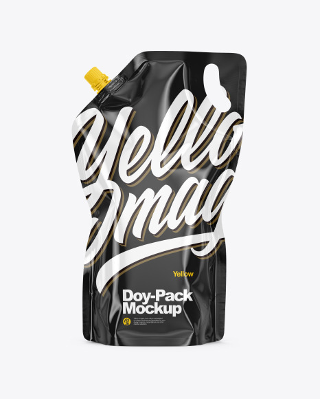 Download Glossy DoyPack PSD Mockup
