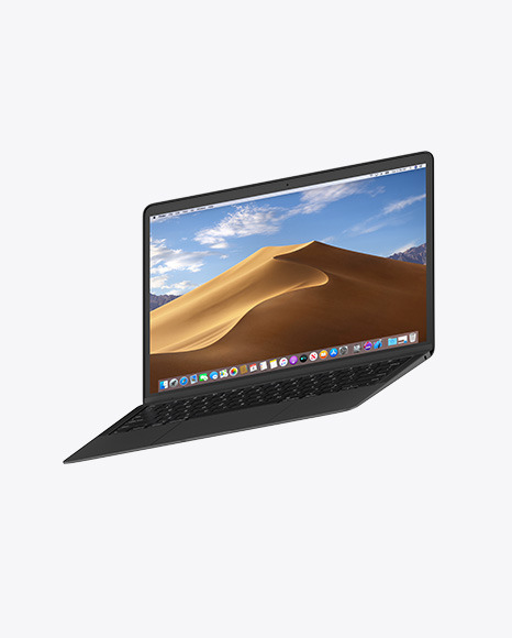 Clay Macbook Air Mockup