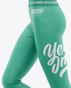 Women's Leggings Mockup - Side View
