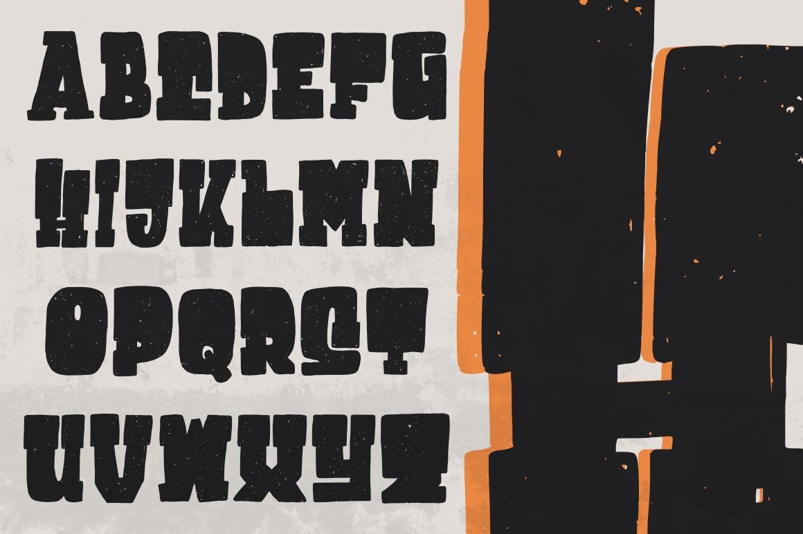 Destone Font [Regular & Slab Serif]