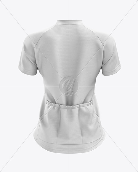 Women's Cross Country Jersey mockup (Back View)