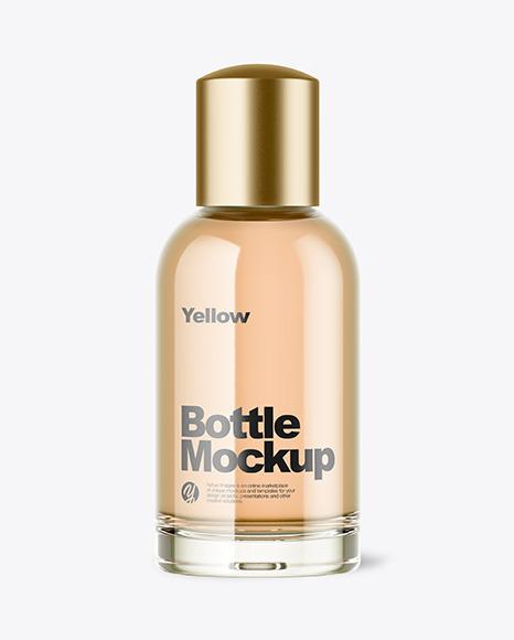 Download Glass Bottle PSD Mockup