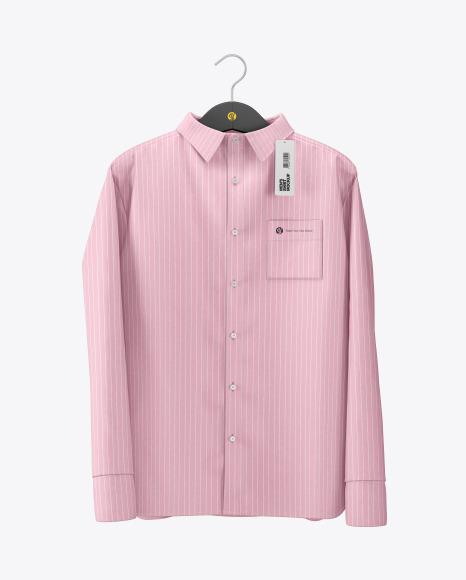 Download Melange Mens Shirt on Hanger PSD Mockup