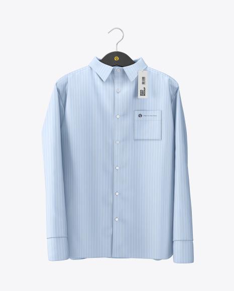 Download Mens Shirt on Hanger PSD Mockup