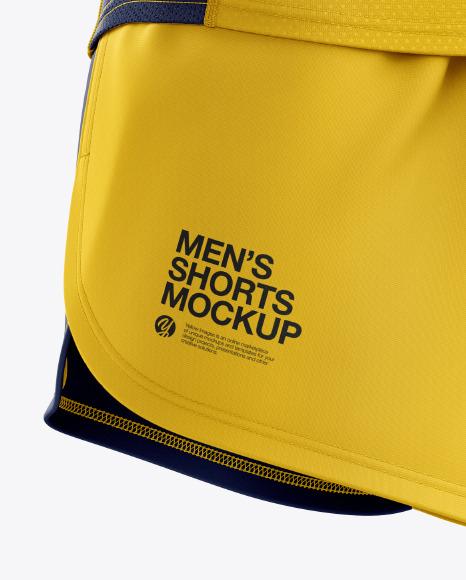 Men's Running Kit mockup (Right Half Side View)