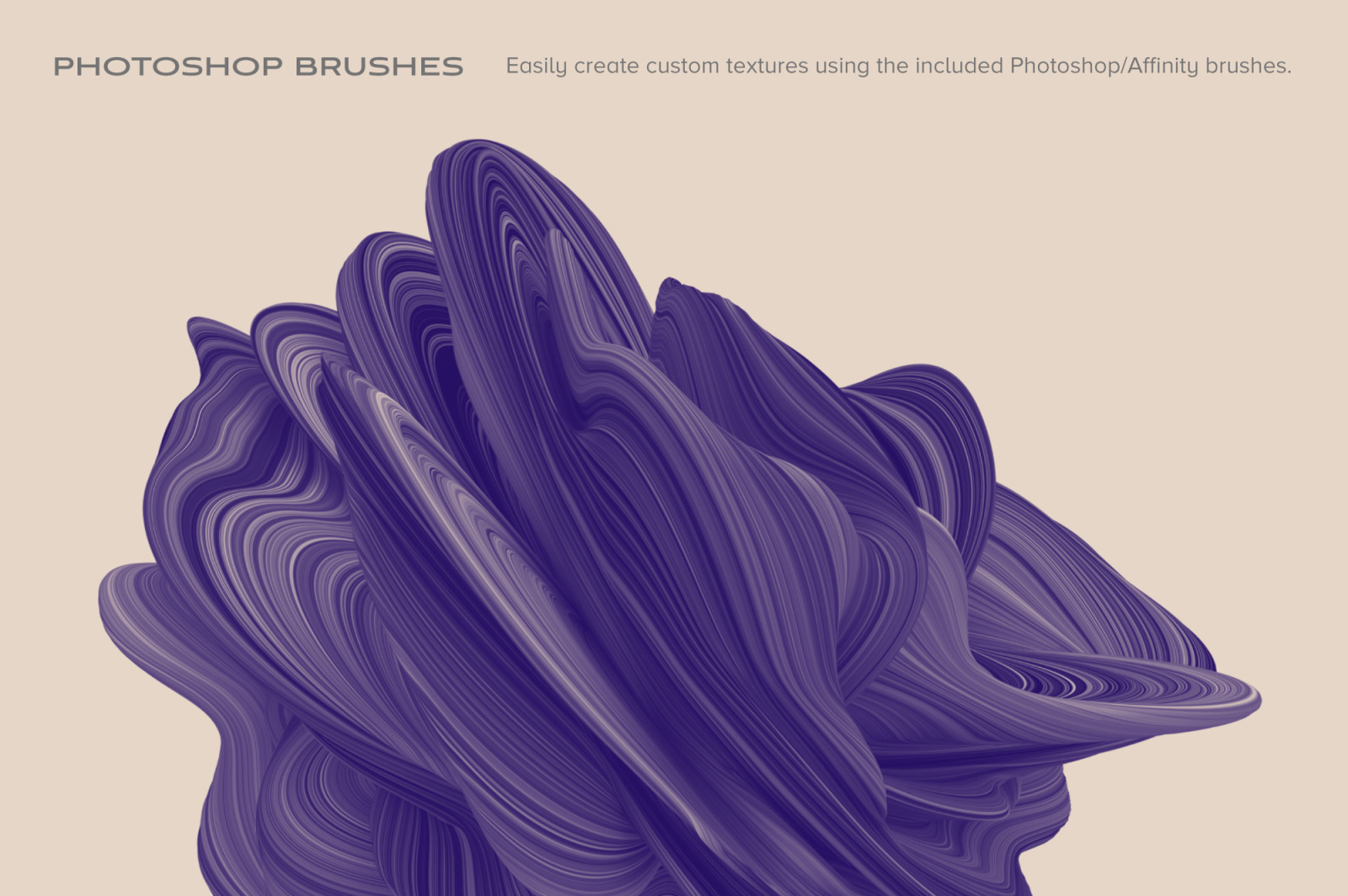 Amplify: 15 Fluid 3D Shapes in Textures on Yellow Images