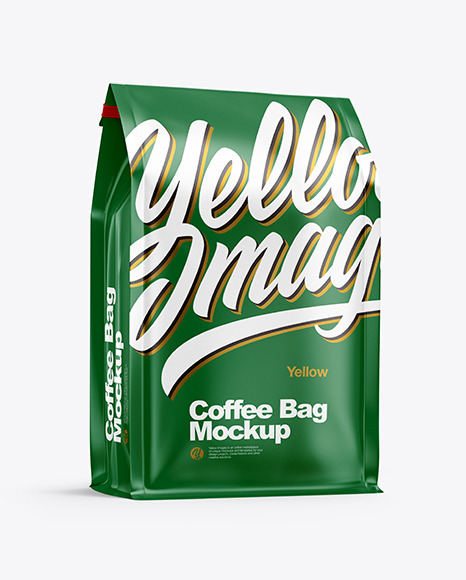 Download Textured Paper Coffee Bag PSD Mockup