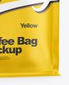 Matte Coffee Bag Mockup