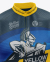 Men's Cycling Wind Vest Mockup
