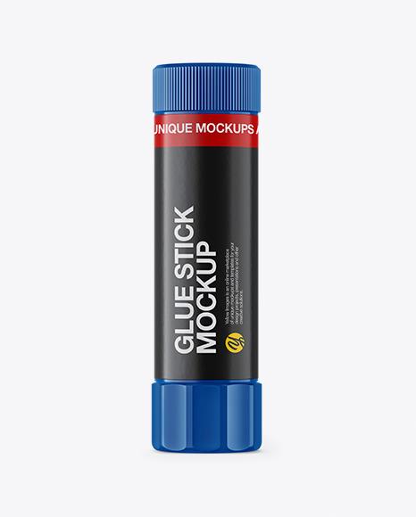 Download Glossy Glue Stick PSD Mockup