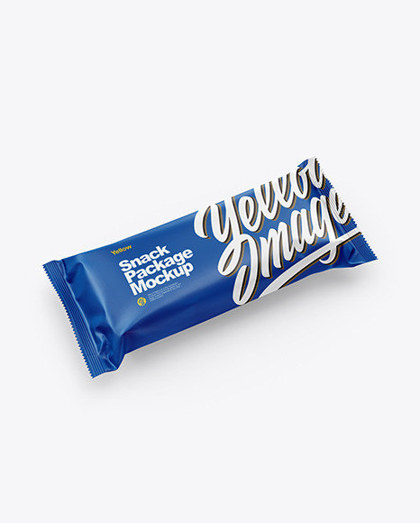 Download Matte Snack Bar PSD Mockup