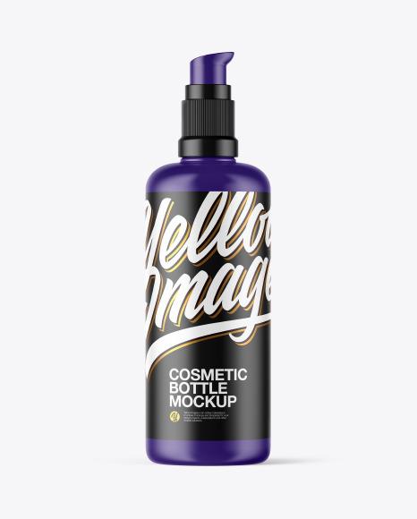 Download Matte Cosmetic Bottle PSD Mockup