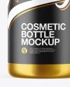 Metallic Cosmetic Bottle