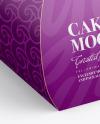 Paper Cake Box Mockup