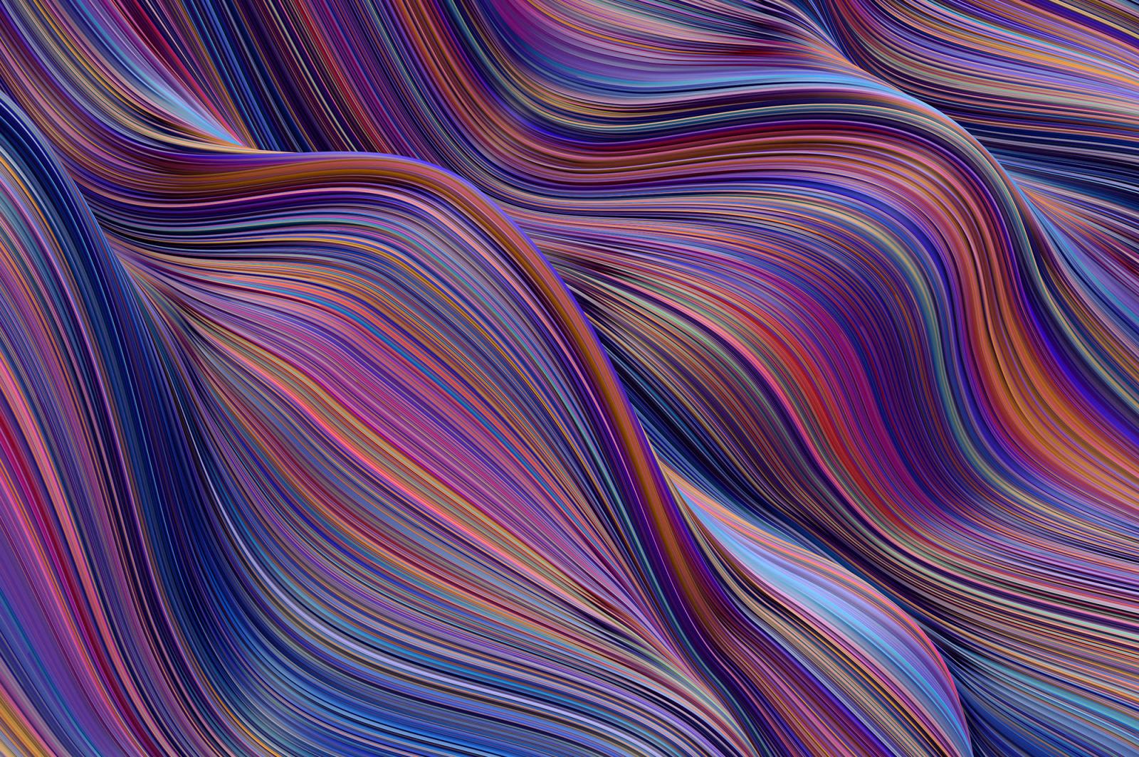 Surge: Fluid Cascading Textures
