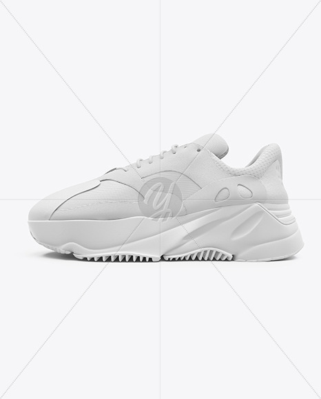 Download Sneaker Mockup Left Half Side View Yellowimages