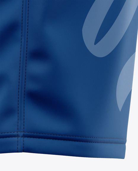 Men's Soccer Shorts Mockup - Side View