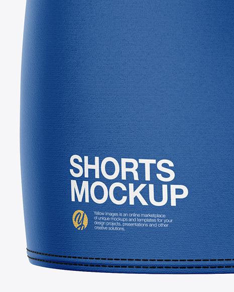 Women's Sport Shorts Mockup