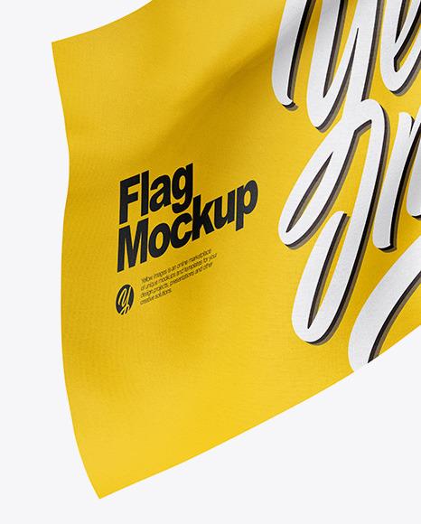 Flag Mockup