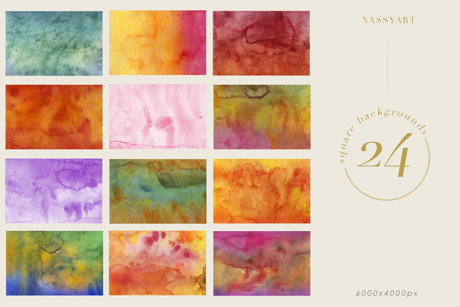Luminoso Watercolor Textures