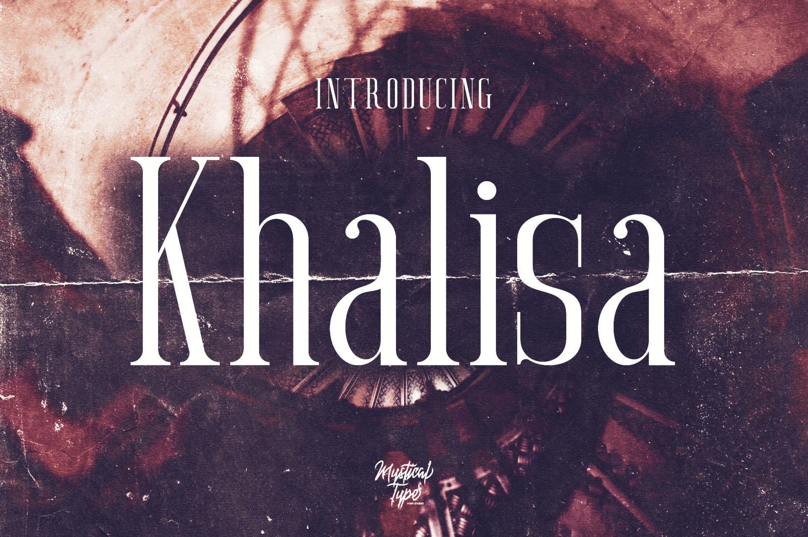 Khalisa Serif
