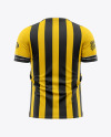 Men's Soccer Jersey Mockup - Back View - Football Jersey Soccer T-shirt