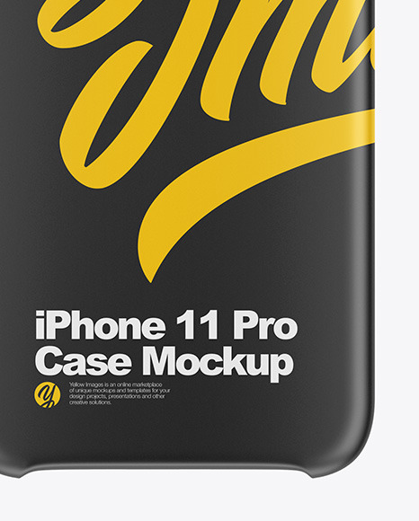 iPhone 11 Pro Matte Case Mockup