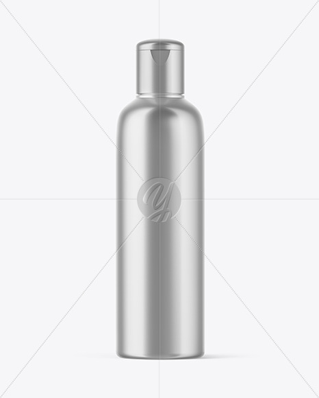 Metallized Bottle Mockup