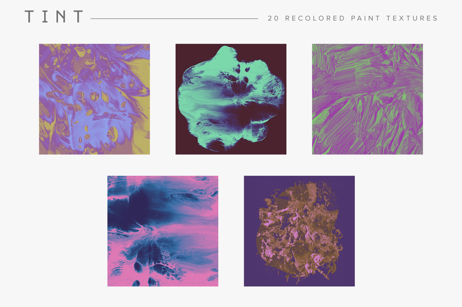 Tint: Recolored Paint Textures