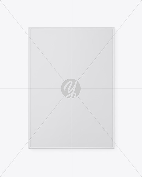 Plastic Frame Poster Mockup
