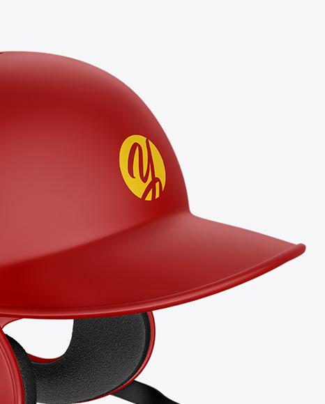 Download Matte Baseball Helmet Mockup Yellowimages